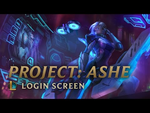 PROJECT: Ashe | League Of Legends - Login Screen