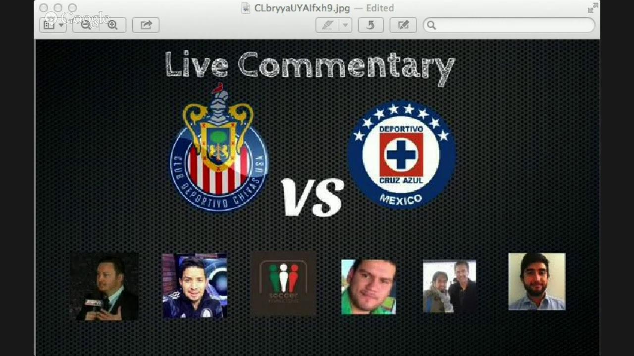 TMSS: Chivas vs Cruz Azul Live commentary