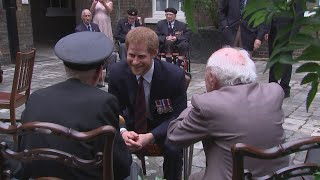 Prince Harry meets veterans to discuss Dunkirk film