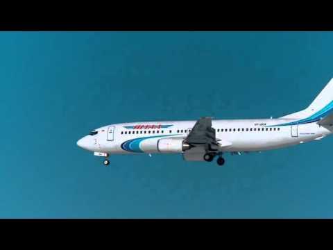 Посадка Боинга в Тюмени