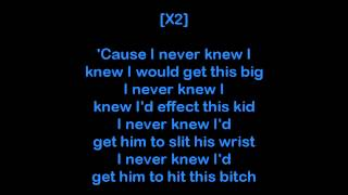Watch Eminem Who Knew video