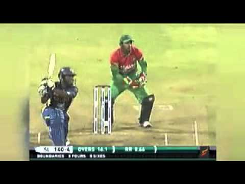 Sri Lanka vs Bangladesh 2013 only T20 Highlights - Kusal Perera THE NEW JAYASURIYA
