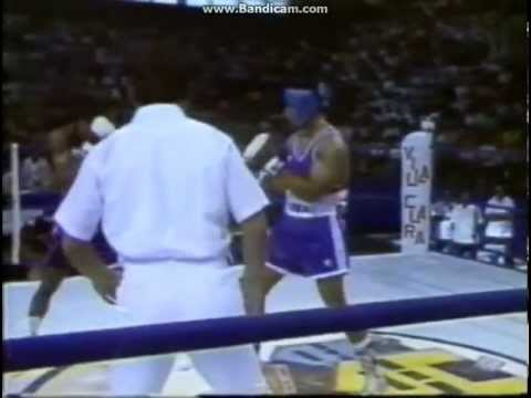 1987 CUB-USA Angel Espinosa vs Fabian Williams 75 kg