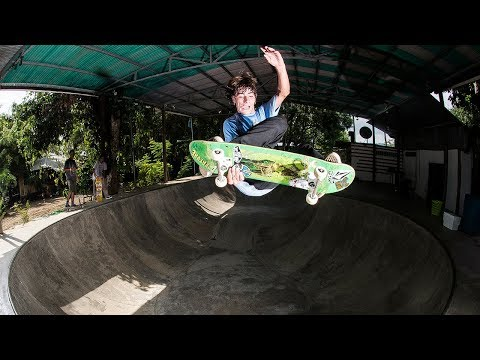 Volcom Latin America Skate Team Hits Costa Rica - Jungle Vacation