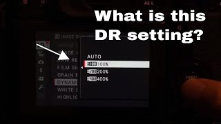Fujifilm X-T2 Dynamic Range Settings Explained