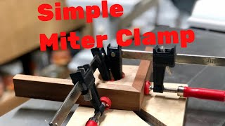 Simple Jig for Clamping Mitered Joints || DIY