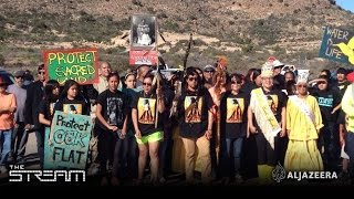 A minefield of protest over Apache 'sacred' land - Highlight