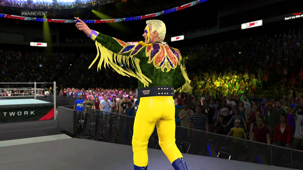 WWE 2K15- Sting '91 Entrance [PS4] - YouTube