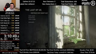 The Last of Us Speedrun World Record! (3:10:49) for All Collectibles