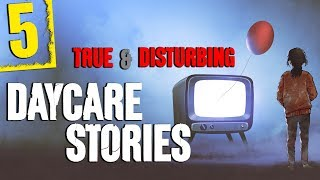 5 CREEPY Daycare Stories 🎵 Rain Sound Effect and Relaxing Sounds for Sleep - Darkness Prevails