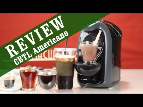 americano with nespresso machine