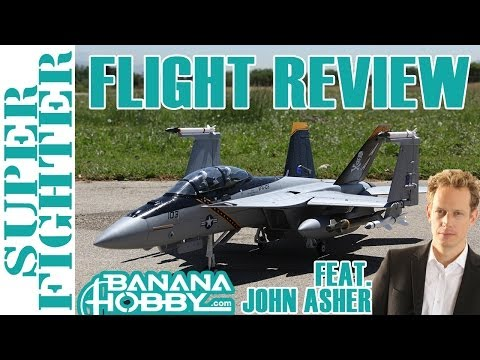 12CH Super Fighter BlitzRCWorks | Flight Review (feat. John Asher) | EDF Fighter Jet