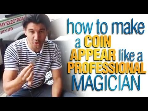 Coin Tricks Revealed: How To Make A Coin Appear Like A Professional Magician!
