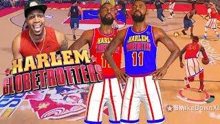 HARLEM Globetrotters RETURN! LeBron At The Point - NBA 2K18 Park & Pro Am