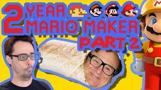 Mario Maker - Bowser Chase, Ghost Puzzle, and Hydro Headbut  | Anniversary Levels #2