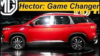 MG Hector First Looks Pre Review: Saavdhaan Tata Harrier, Jeep Compass