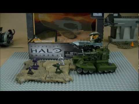 Mega Bloks Halo Universe Scorpion Review