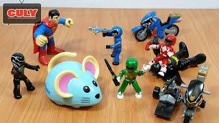 5 Anh em siêu nhân đánh Superman - Đồ chơi trẻ em