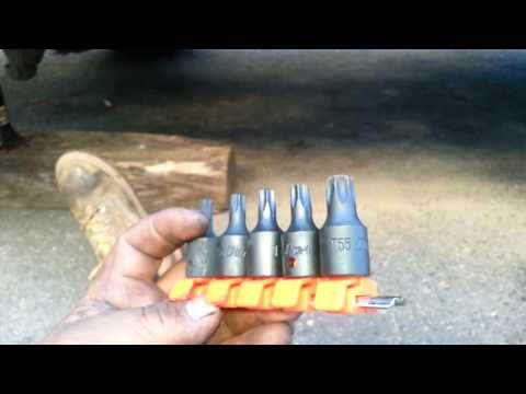 How to Replace rear brake pads on 2001 GMC Sierra 2500HD  in 3 minutes