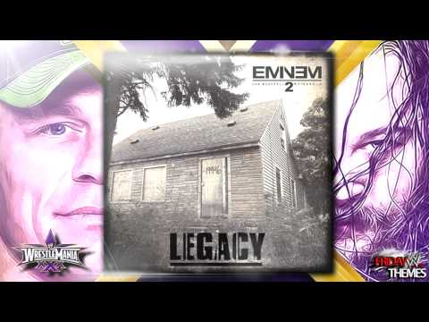 Wwe: Wrestlemania 30 (xxx) John Cena Vs Bray Wyatt Theme Song - legacy By Eminem video
