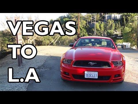 Vegas to LA - Sun, Sea, Guns, and a Proposal