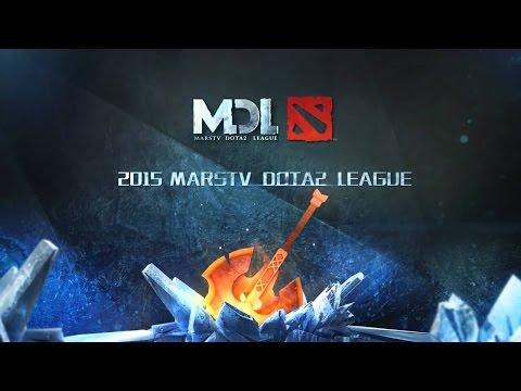 OG vs Secret - MarsTV Dota 2 League 2015 Winter Season  Quarter Final - Game 1 bo3 - No Broadcast !