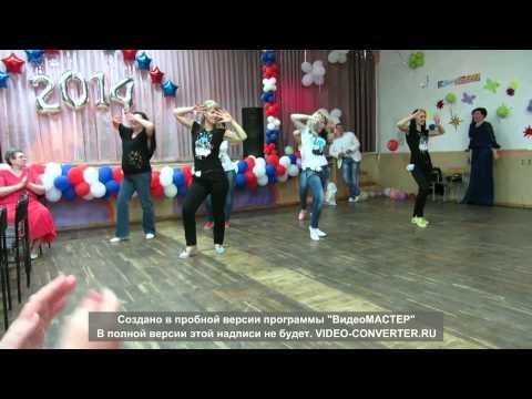 Танцевальное поздравление от родителей на выпускной в детском саду