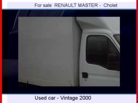 Sale one RENAULT MASTER  Cholet  Maine-et-Loire