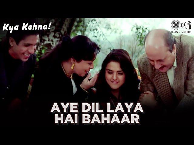 Aye Dil Laya Hai Bahaar -Kya Kehna | Preity Zinta | Kavita Krishnamurthy & Hariharan | Rajesh Roshan