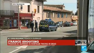 France shooting: hostage-taking situation comes to an end, gunman killed by police