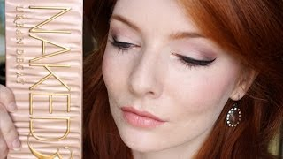 Naked 3 Tutorial ( Soft Wearable Glamour ) & Nude Lips