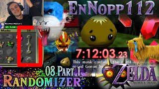 FIXED IMPOSSIBLE LOGIC?! The Legend of Zelda: Majora's Mask Randomizer 08 Part 1 (SUPER GLITCHED)