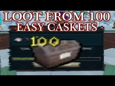 Runescape 3 - Loot From 100 Easy Clue Caskets