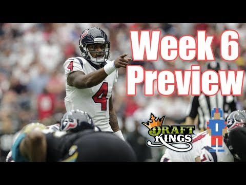 NFL Week 6 Preview & Picks - DraftKings