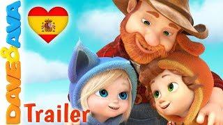👣 Uno, Dos Me Ato El Zapato - Trailer |  Canciones Infantiles | Dave y Ava 👣