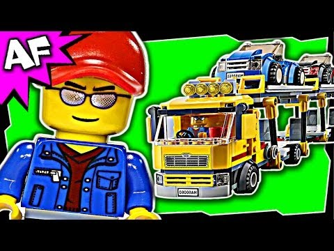 AUTO TRANSPORTER Lego City 60060 Great Vehicles Building Set Review