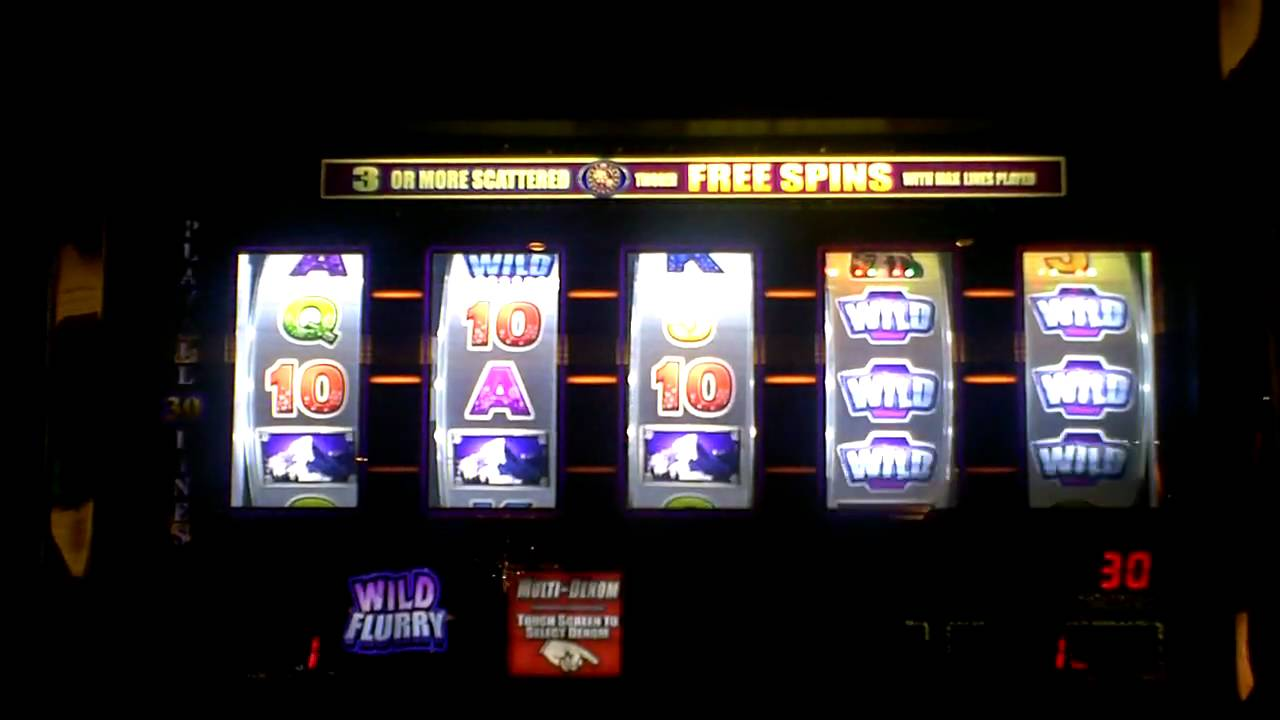 flurry slot machine