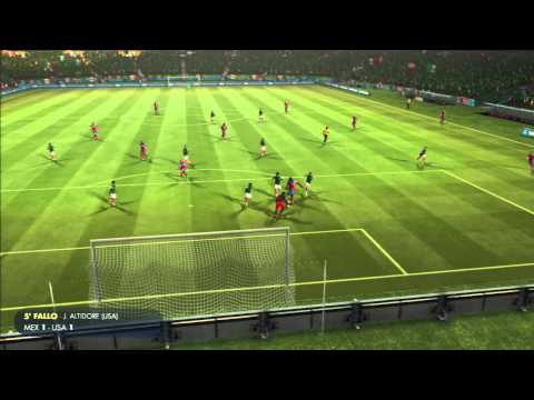 EA SPORTS 2014 FIFA World Cup Brazil 2014 Mexico vs USA