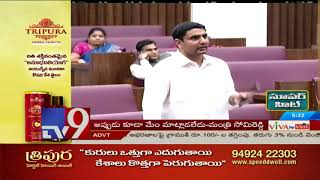 AP Govt will ensure no water shortage : Lokesh