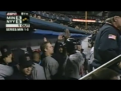 10/6/4: Justin Morneau and Corey Koskie's back-to-back hits off of Yankees closer Mariano River in the 8th ties the game for the Twins Check out http://MLB.com/video for more! About MLB.com:...