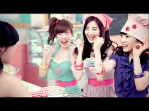 SNSD 少女時代 LG Cooky TV CF 30s Version