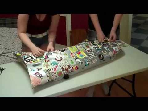Sticker Bombing Fender - Volkswagen Golf MK4 - YouTube