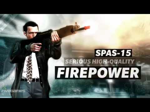Max Payne 3: Shotguns Weapons [HD]