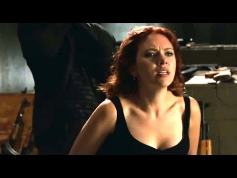 The Avengers Trailer : Black Widow Movie Clip