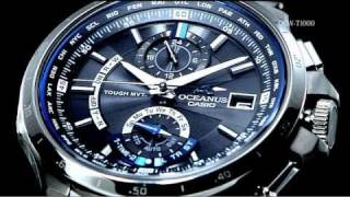 OCEANUS OCW-T1000 Promotion Movie CASIO