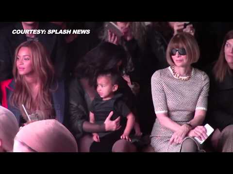 (VIDEO) Kim Kardashian, Beyonce, Justin Bieber, Rihanna at Kanye West's New York Fashion Show