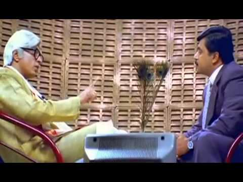 Mudhalvan Interview Scene - Tamil Super Scene video