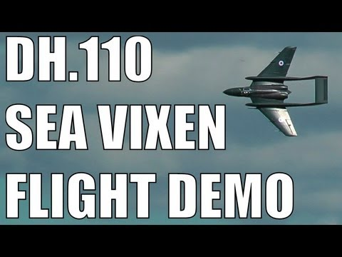 DURAFLY / HOBBY KING de Havilland DH.110 Sea Vixen FLight Demonstration in HD