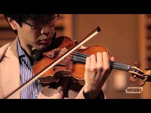 WGBH Music: Soovin Kim plays Bach's