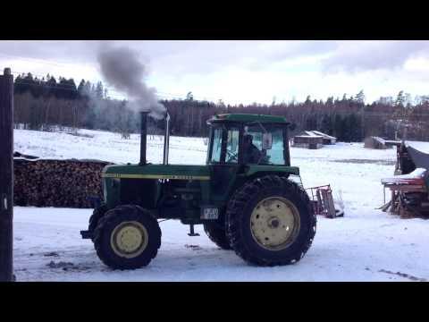 John Deere 4430  Cold Start